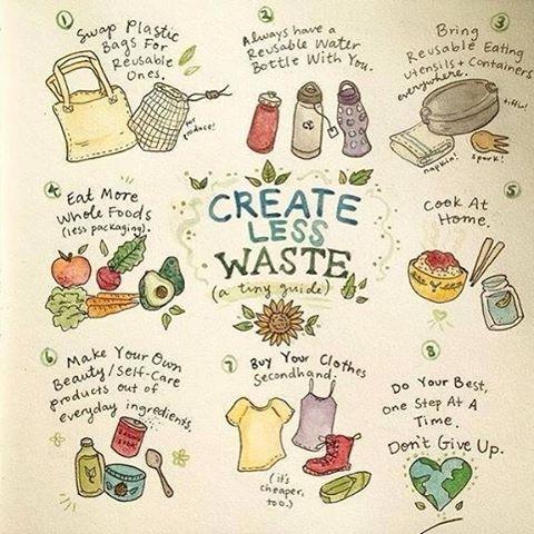 """Descobrimos completamente por acaso esta conta de Instagram fantástica. Pertence a Maddie Bright, @maddieandthemoon , é uma ilustradora americana vegan e apaixonada por botânica e pelo movimento """"Zero Waste"""". Ontem, enviámos uma mensagem à Maddie e pedimos para partilhar. Ela foi muito simpática e ainda agradeceu. <3 Nós é que agradecemos pela inspiração e pela forma criativa de partilhar os ideais em que acredita, as receitas e os conselhos para uma vida """"zero desperdício"""". Sigam, que vale a...:"""