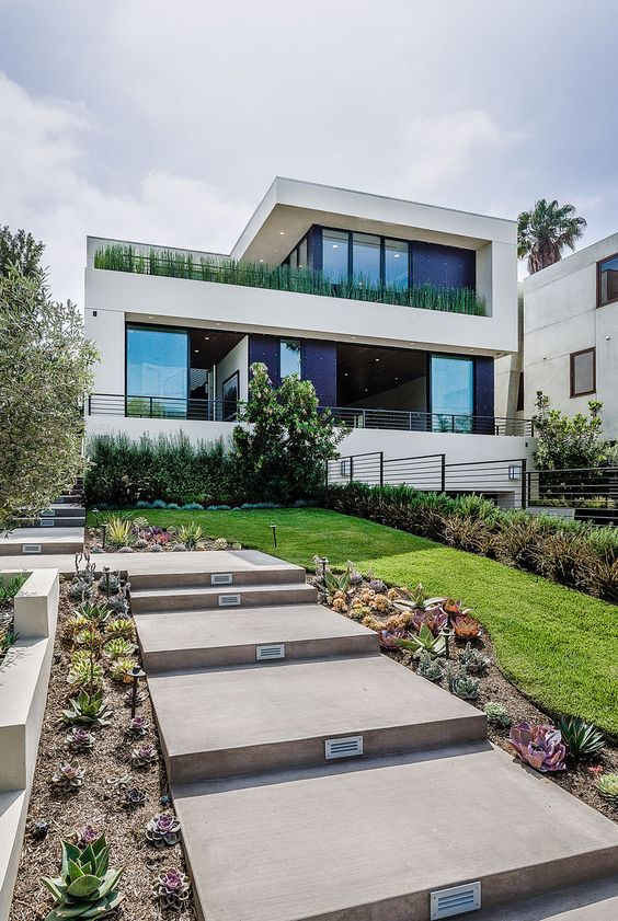 Modern home for sale on Woodruff Avenue in Los Angeles, California