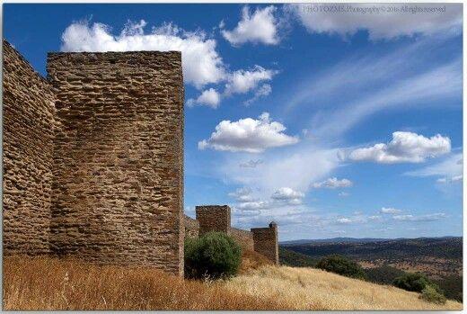 Castelo de Noudar em Barrancos