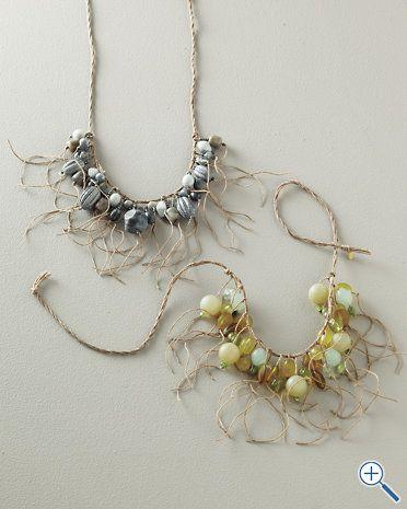Teresa Goodall Fringe Necklace