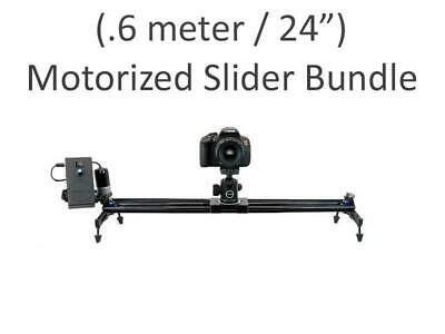 Details About New 24 Motorized Camera Slider Track Rail Video
