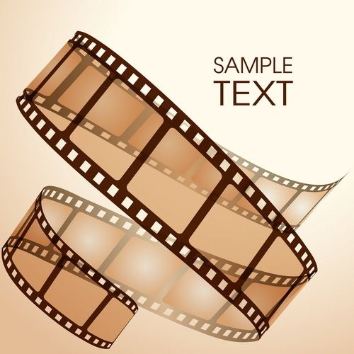 Film Beispiel Hintergrund Vektor Film Probieren Vectors Film Strip Film Art Camera Film Tattoo