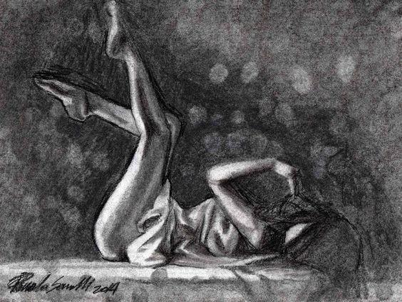 #disegno #drawing #videospeed #carboncino #charcoal #donna #woman #girl #ragazza #nudoartistico #artisticnude #bozzetto #sketching #figure #figura #body #corpo #disegnoamanolibera #disegnorealistico #realisticdraw