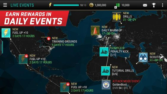 Nuevo juego para móviles de FIFA aparece en la Play Store