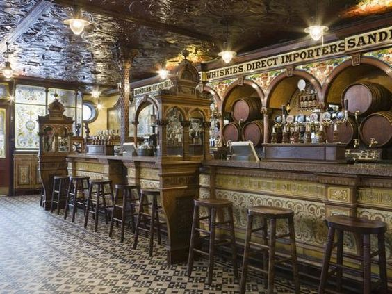 A veritable palace among pubs, the Crown Bar is one of the original Victorian 'Gin Palaces', pubs decorated in lavish style where ordinary people could experience some real luxury.