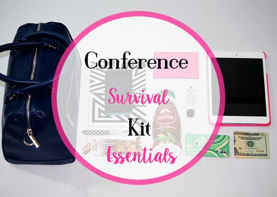 What To Pack In Your Conference Survival Kit.