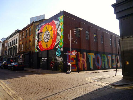 Exploring East London: Unterwegs in Shoreditch und Hoxton #london #reiseblogger #immerglueck #shoreditch
