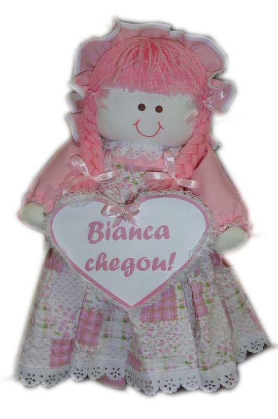boneca para porta da maternidade