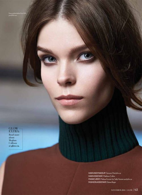 lovelostfashionfound:    Meghan Collison - Glow Magazine...