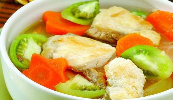 Sup Ikan Kakap Kuah Bening Sup Ikan Resep Sup Masakan