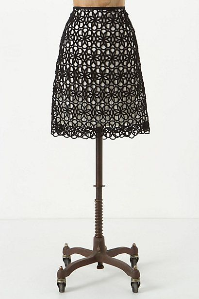Dilated Lace Skirt - Anthropologie.com