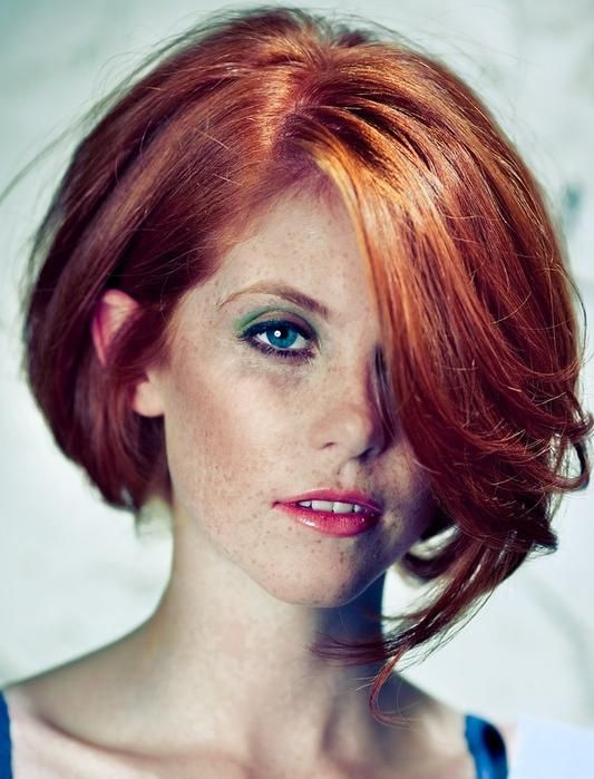 Superb Bobs Haircuts And Red Bob On Pinterest Hairstyle Inspiration Daily Dogsangcom