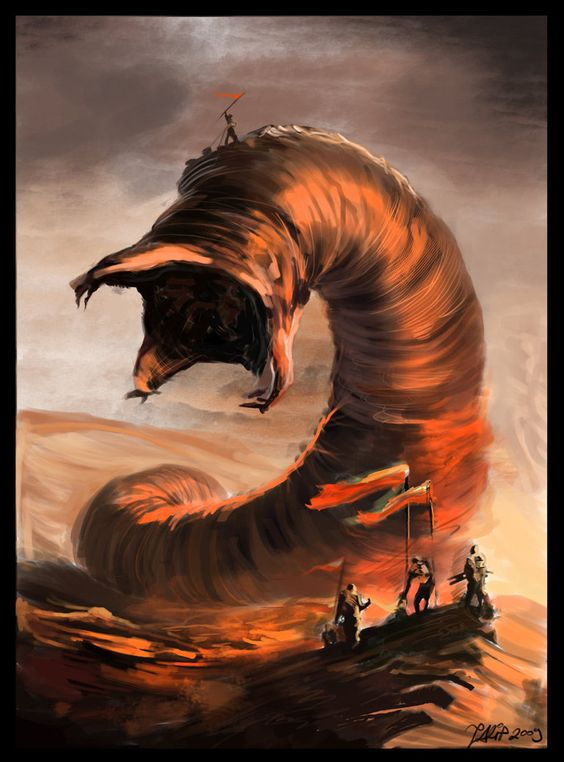 Image result for giant worm