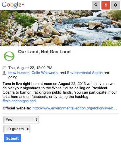 LIVE - ban Fracking on Public lands! | Environmental Action