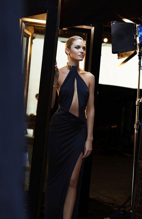 runwayandbeauty: Candice Swanepoel para Max Factor 2015 | Detrás de las escenas.