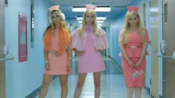 The Chanels in the Scream Queens Season 2 Promo