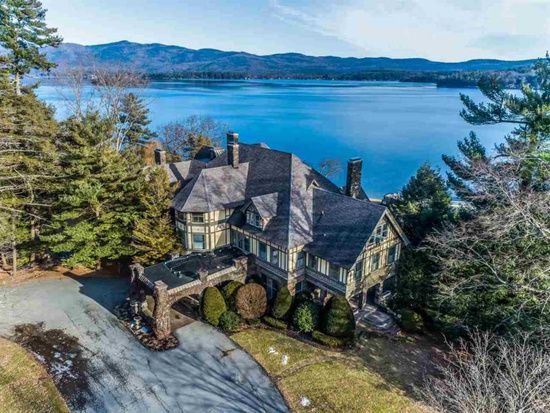 3232 Lake Shore Dr Lake George Ny 12845 Mls 201910350 Zillow Mansions For Sale Lake George Mansions