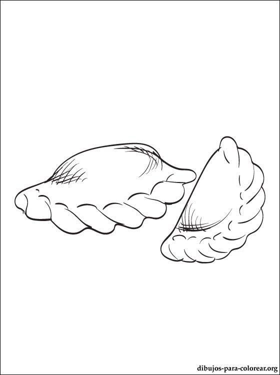 Dibujo De Empanada Para Imprimir Dibujos Para Colorear Empanadas Pop Art Art