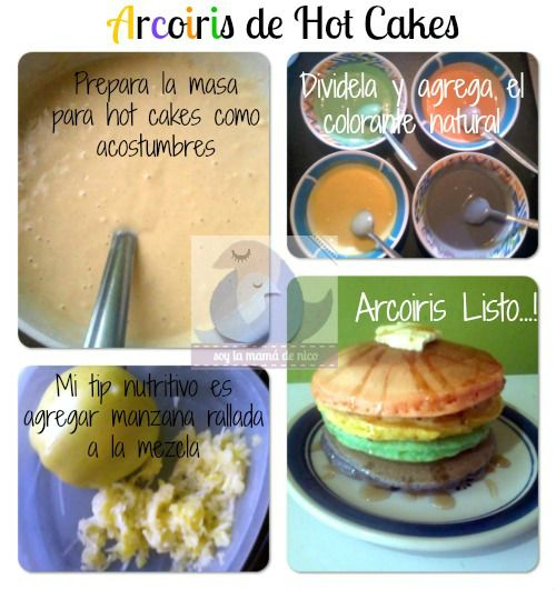 Hot Cakes Arcoiris