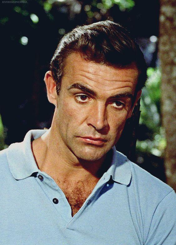 "Sean Connery as James Bond in ""Dr. No"" (1962)"