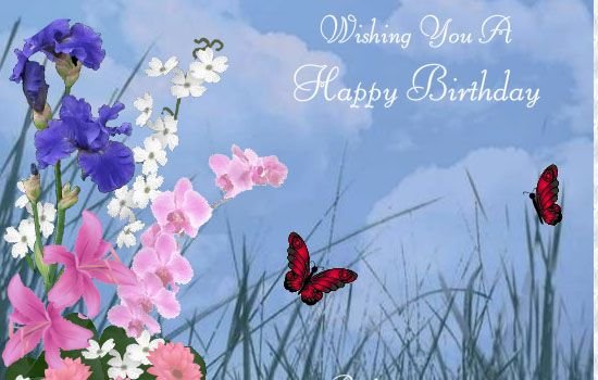 butterfly happy birthday image - Yahoo Image Search Results: