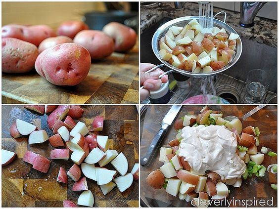 homemade potato salad @cleverlyinspired (1)