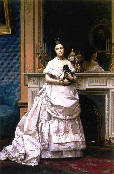 Jean-Léon Gérôme (1824 – 1904) - Portrait of a Woman