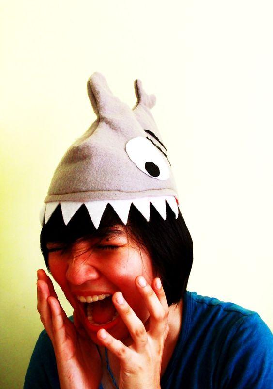 Shark Attack Hat #howto #tutorial