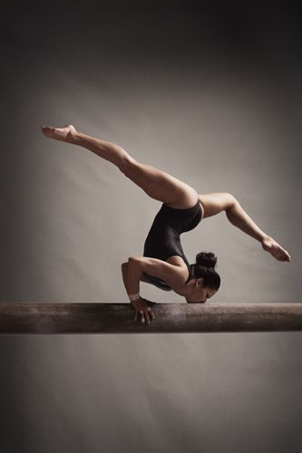 Awesome slide show! Great advice for eating right and working out the easy (and correct) way. (don't worry you won't have to do that pose on a balance beam lol)