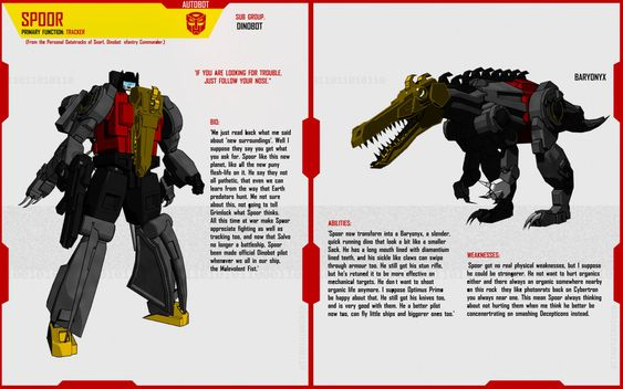 DINOBOT SPOOR by F-for-feasant-design on DeviantArt