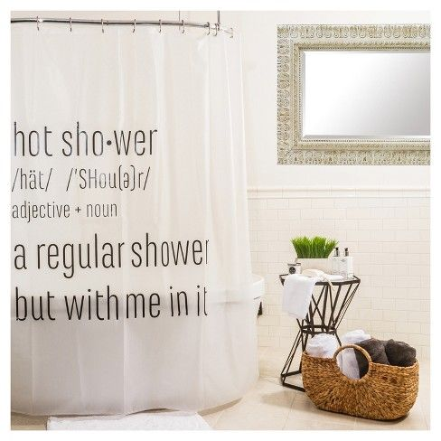 Hot Shower Curtain Black Room Essentials Target Room
