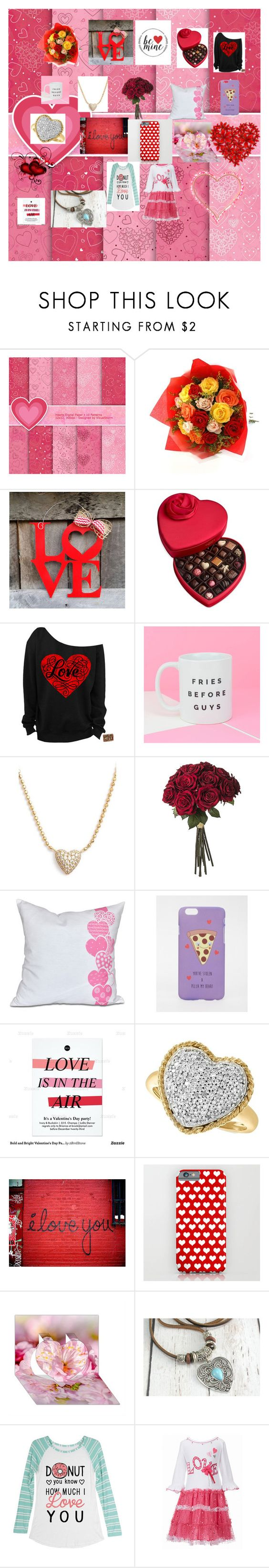 """""""valentines day"""" by puppyloverforlife ❤ liked on Polyvore featuring beauty, Godiva, Nadri, ASOS and Effy Jewelry"""
