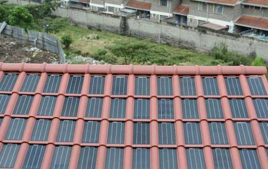 Few People Knew That Tesla Had Been Beaten To The Punch By Kenyan Firm Strauss Energy Solar Roof Solar Roof Tiles Solar Power Energy