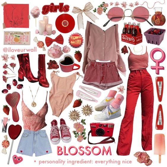 Blossom, powerpuff girls