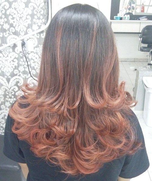 20 Coole Zweifarbige Haarideen Fur Kurz Mittel Und Lang Haar Haar Styling Frisuren Langhaar Braun Ombre Haare