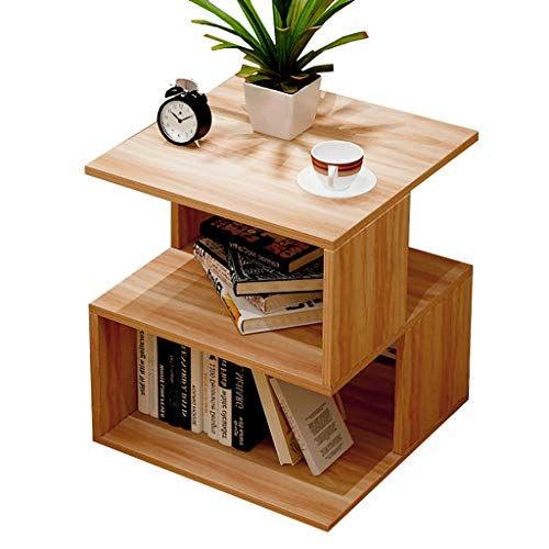 Zhaoru End Tables Simple And Modern Side Fashion Hall Bed Multi Purpose Storage Side Sofa Cabinet Small Side Bookshelves Diy Side Tables Bedroom Home Furniture