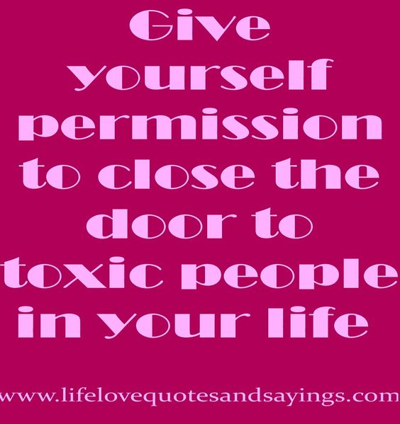 Close the door to Negativity!