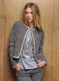 il giacchino Chanel con spiegazioni in italiano - la maglia di marica