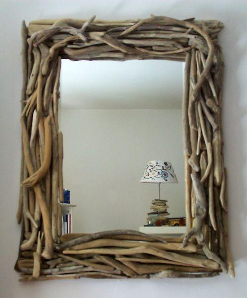 spiegel mit treibholzrahmen no iii