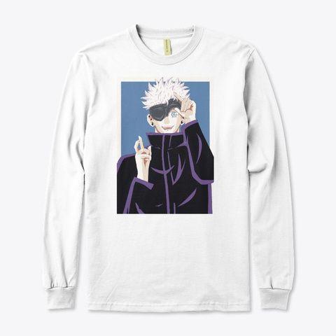 Satoru Gojo Jujutsu Kaisen Tee Shirt Designs Shirt Designs Jujutsu