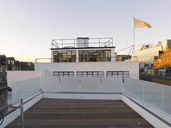 King's Mews terrace