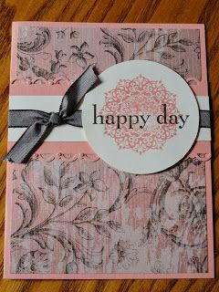 """Happy Day stamp set - 25% off through Oct 28th.  Card by Jess B. . . Creative """"Card""""- iology"""