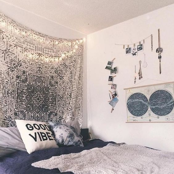 This is what i call the dream room☆ but my room would never ever look this perfect, instead it would be a scarf on the back wall and the map would be a map of america⭐︎ I know i seem adventurous but i don't think i would be up to spending a ridiculous price on things so i think I'm going to have to resort to a budget☇