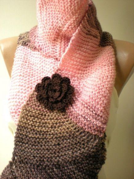 I heart pink & brown together
