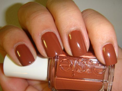 perfect for fall...and who doesn't love a good burnt orange shade?