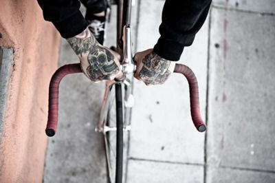 bicycle, bike, photography, pierce the veil, tattoo