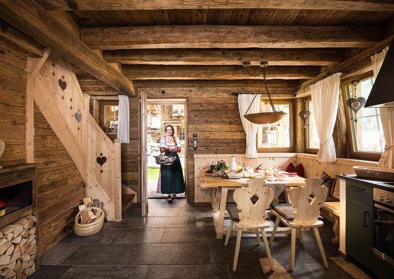 Katya Shipster of Chalet de Soie Chalet style, Cabin and Interiors - einrichtungsideen mobel chalet stil
