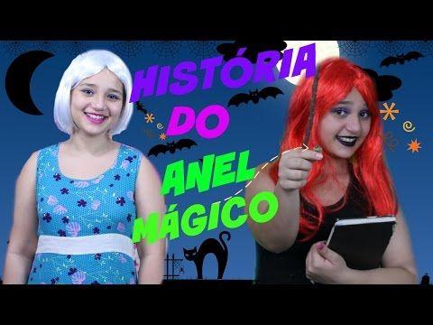 HISTÓRIA DO ANEL MÁGICO | BRUXA- QUINTA PARTE - YouTube