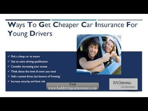 Drivers Insurance Quote Beauteous How Do I Get Quotes For Car Insurance For Young Drivers  Watch