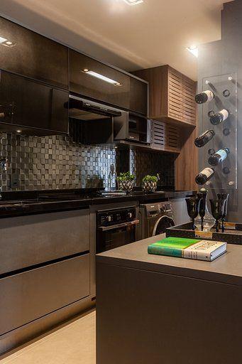 Decoração de apartamento masculino - rock inspiração - Jeito de Casa - Blog de Decoração e Arquitetura
